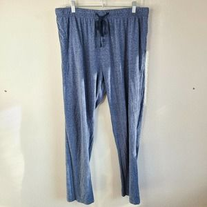 Hanes Mens Gray Sweatpants Loungewear Pajama Pants